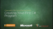 Creating Your First C# Program - 02