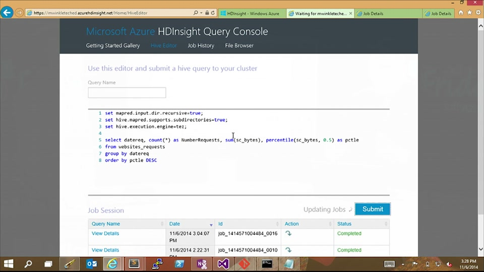 Getting Started with Azure HDInsight with Matt Winkler