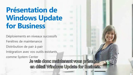 Windows as a Service : Présentation de Windows Update for Business