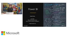 12.11.2015 Power BI - Mistä on kyse?