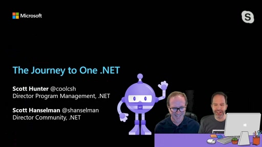 The Journey to One .NET