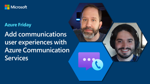 Add communications user experiences with Azure Communication Services