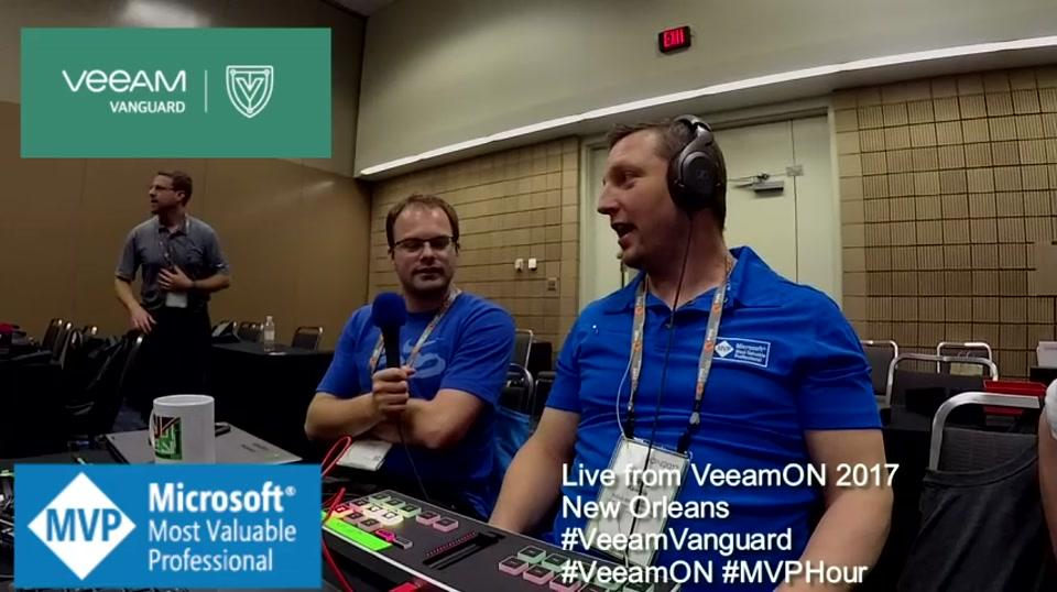 Episode 70 - Interview with Dean Lewis at VeeamON 2017
