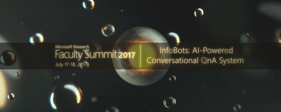 Video Abstract: InfoBots: AI-Powered Conversational QnA Systems