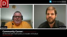 Microsoft DevRadio: Community Corner - BizSpark Edition - An Interview with Todd Gardner, Co-Founder of Track:js