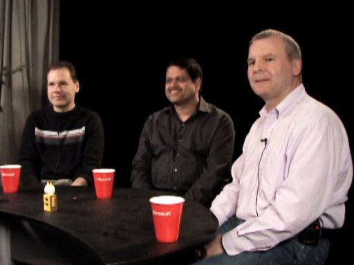 Ted Kummert, S. Somasegar (Soma), Bill Laing: On Trifecta Launching and Working Together - Enter SQL