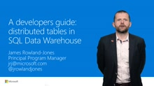 A developers guide: distributed tables in Azure SQL Data Warehouse