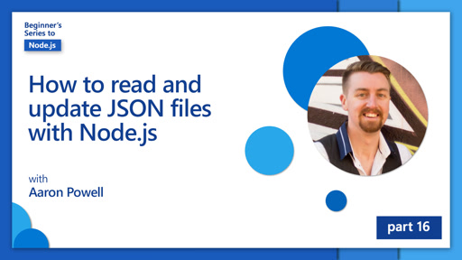 How to read and update JSON files with Node.js [16 of 26]