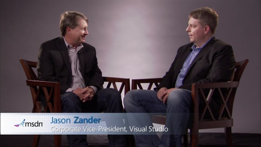 Bytes by MSDN: Jason Zander and Tim Huckaby discuss Visual Studio and Application Lifecycle Management