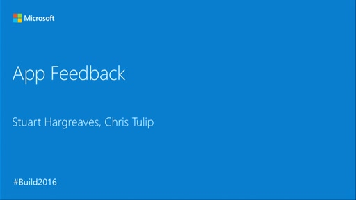 App Feedback: Connect with Your Customers