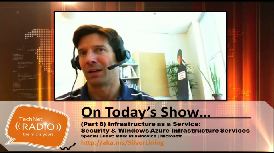 TechNet Radio: An Interview with Mark Russinovich on Windows Azure & Security