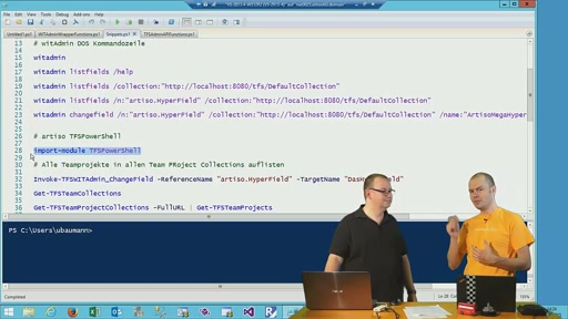 Episode 42 - TFS Administration mit PowerShell