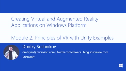 2 | Principles of VR with Unity examples