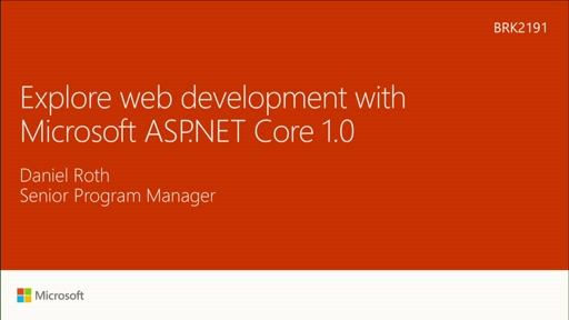 Explore web development with Microsoft ASP.NET Core 1.0