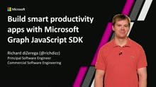Build smart productivity apps with Microsoft Graph JavaScript SDK