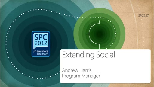 How to Extend Social in SharePoint 2013