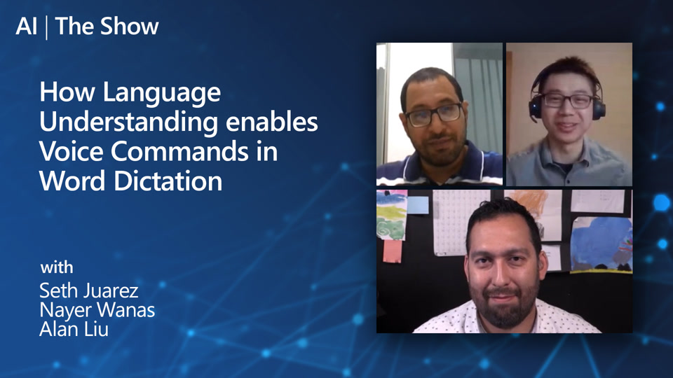 How Language Understanding enables Voice Commands in Word Dictation
