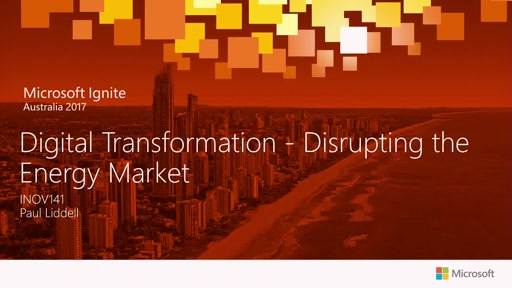 Digital Transformation - Disrupting the Energy Market