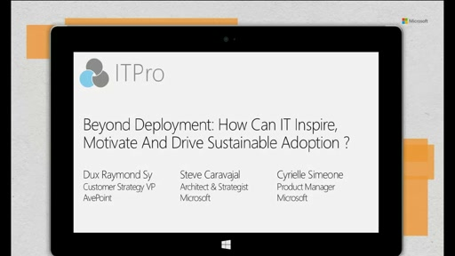 Beyond Deployment: How IT Can Inspire, Motivate And Drive Sustainable Adoption?