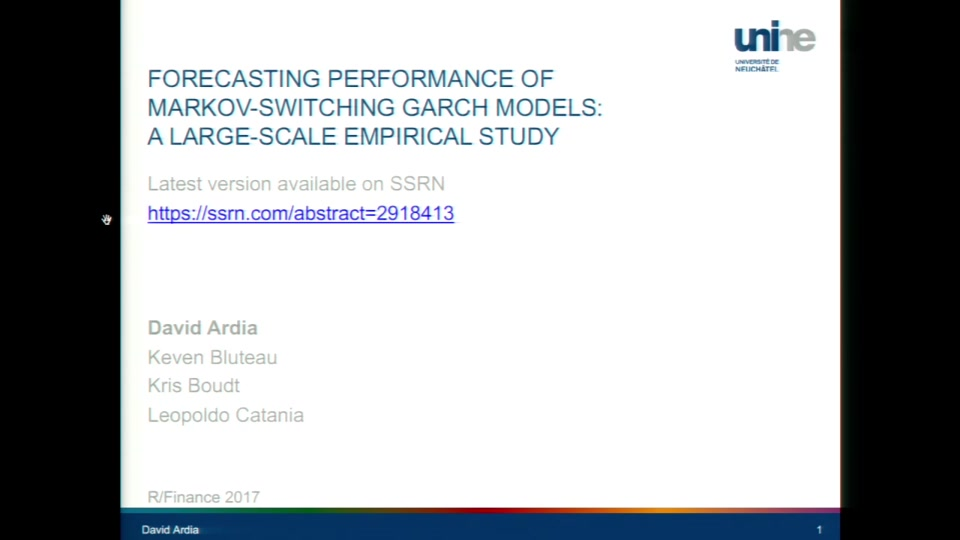 Forecasting Performance of Markov-Switching GARCH Models: A Large-Scale  Empirical Study