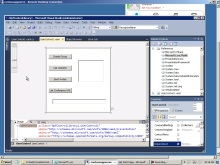 Create and Use a Lync WPF Control