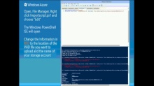 TechNet Radio: IT Time (Part 2) How to Upload a VM via PowerShell into the Windows Azure Virtual Machine Gallery