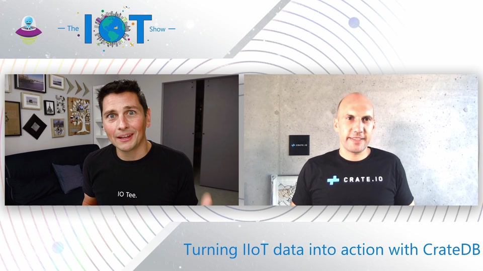 Turning IIoT Data into action with CrateDB