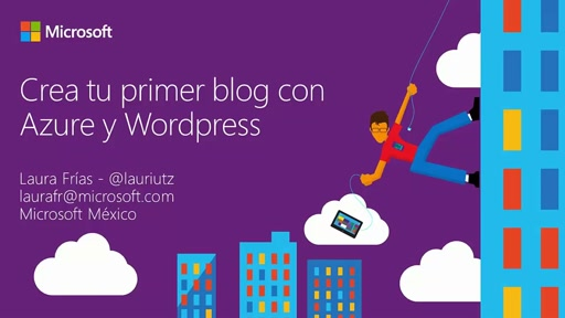 Crea tu primer blog con Azure y Wordpress