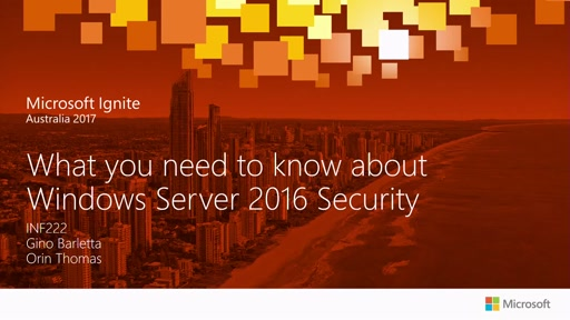 What you need to know about Windows Server 2016 Security
