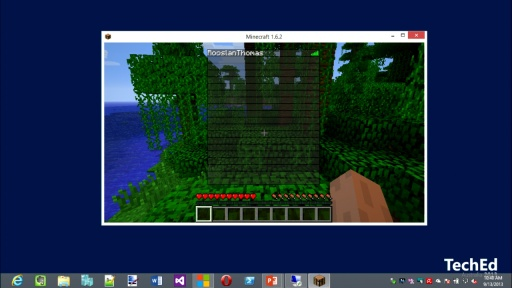Deploying a Minecraft Server on Windows Azure