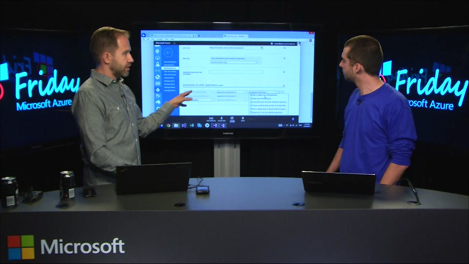 Azure, Office 365, and SharePoint Online has REST endpoints with Mat Velloso