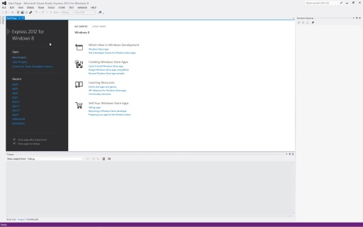 Visual Studio Express for Windows 8 in 10 Minutes