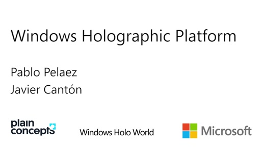 Windows Holographic Platform