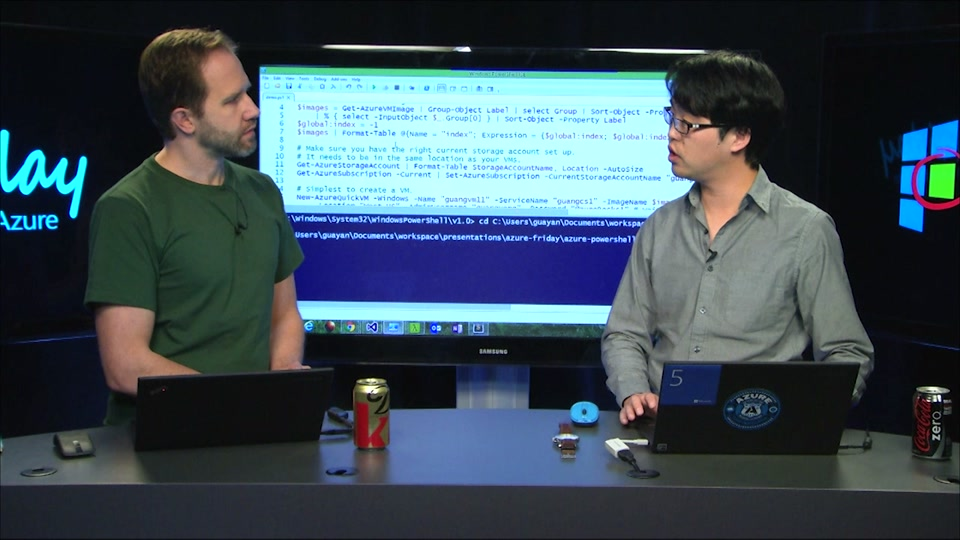 Azure PowerShell 101 - Managing Virtual Machines with Guang Yang