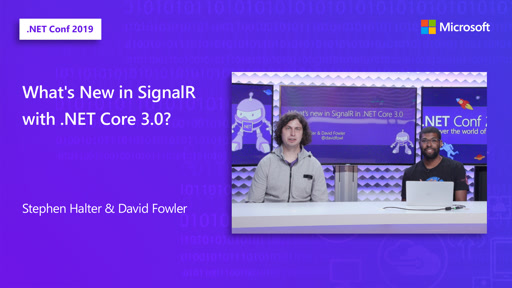What's New in SignalR with .NET Core 3.0?