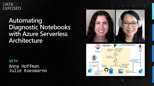 Automating Diagnostic Notebooks with Azure Serverless Architecture