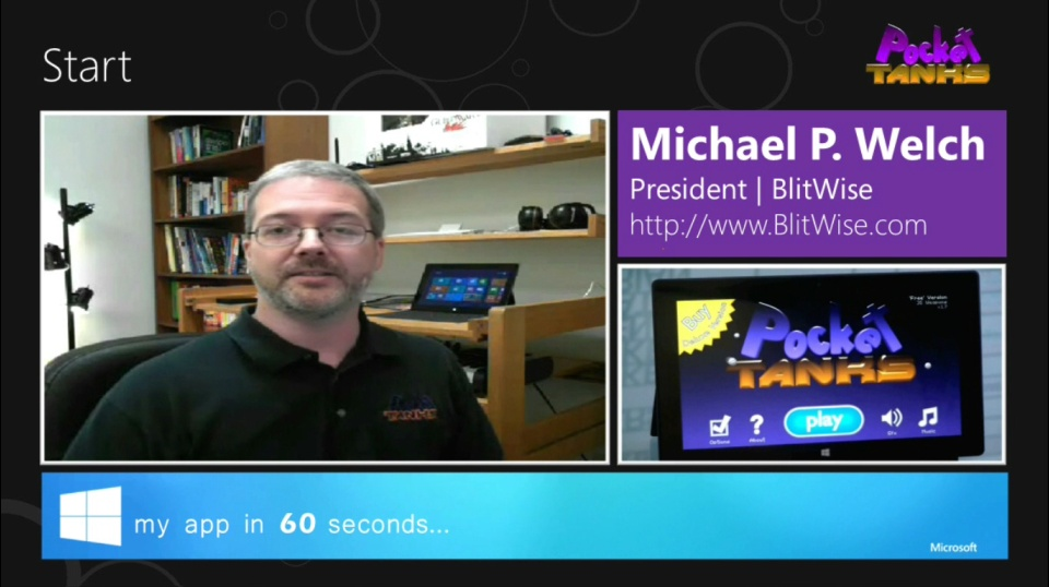 My App in 60 Seconds: Pocket Tanks