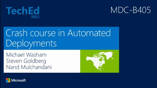 Crash Course on Automating Deployments in Windows Azure Virtual Machines. How and Which Tools?