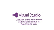 Overview of the  Performance and Diagnostic Hub in Visual Studio 2013