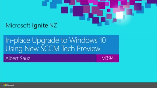 In-place Upgrade to Windows 10 Using New SCCM Tech Preview