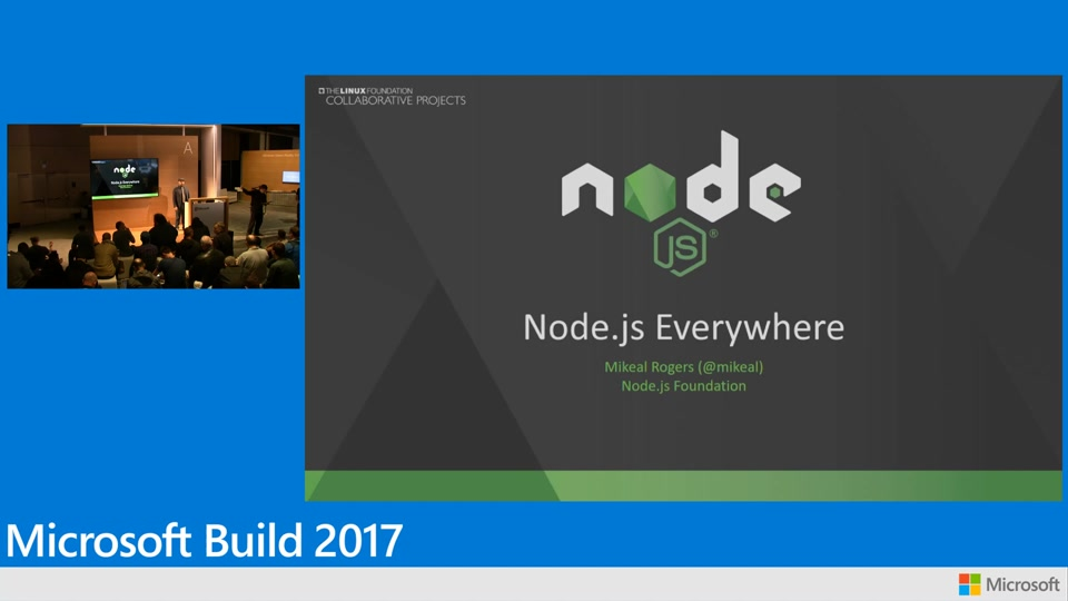 Node.js everywhere