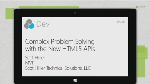 Complex problem solving with the new HTML5 APIs