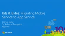 Bits and Bytes: Migrate to App Services