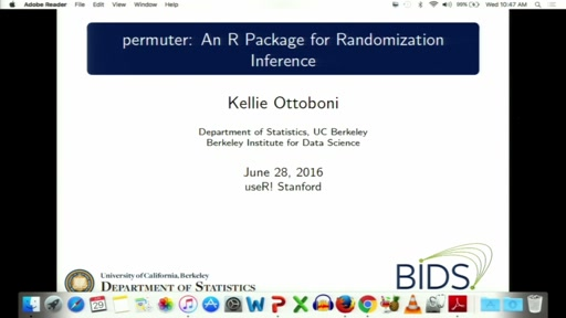 permuter: An R package for randomization inference