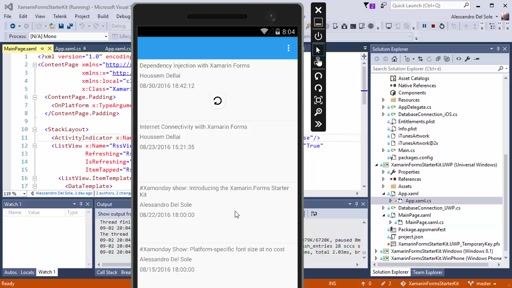 #Xamonday Show: Implementing Pull-to-refresh in Xamarin.Forms