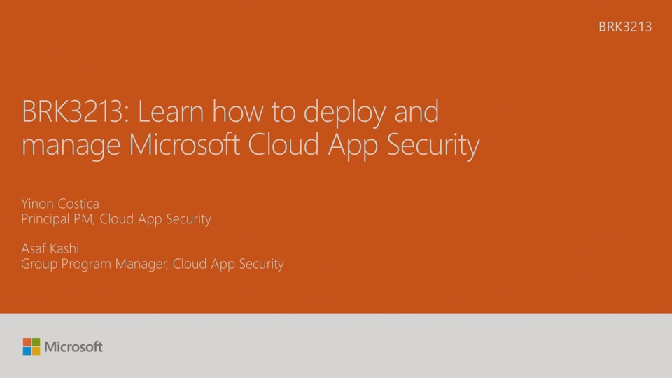 Learn How To Deploy And Manage Microsoft Cloud App