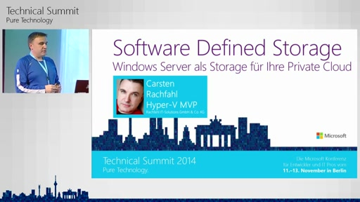 Software Defined Storage: Windows Server als Storage für Ihre Private Cloud