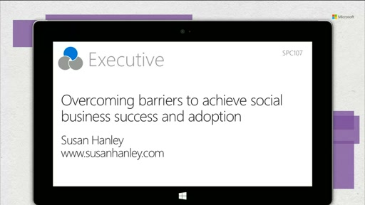 Overcoming barriers to achieve social business success and adoption