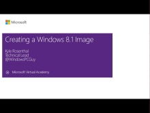 (Module 7) Creating a Windows 8.1 Image