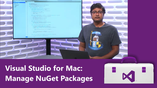 Visual Studio for Mac: Manage NuGet Packages